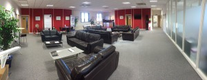 Bristol Groundschool student lounge