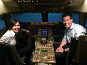 Helen Wilson and Michael Windsor - Airline Placement Programme