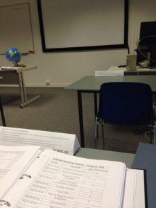 Bristol Groundschool classroom